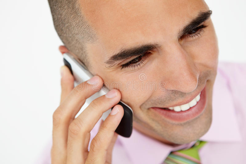 Download Young Businessman Using Cellphone Stock Images - Image: 20792194