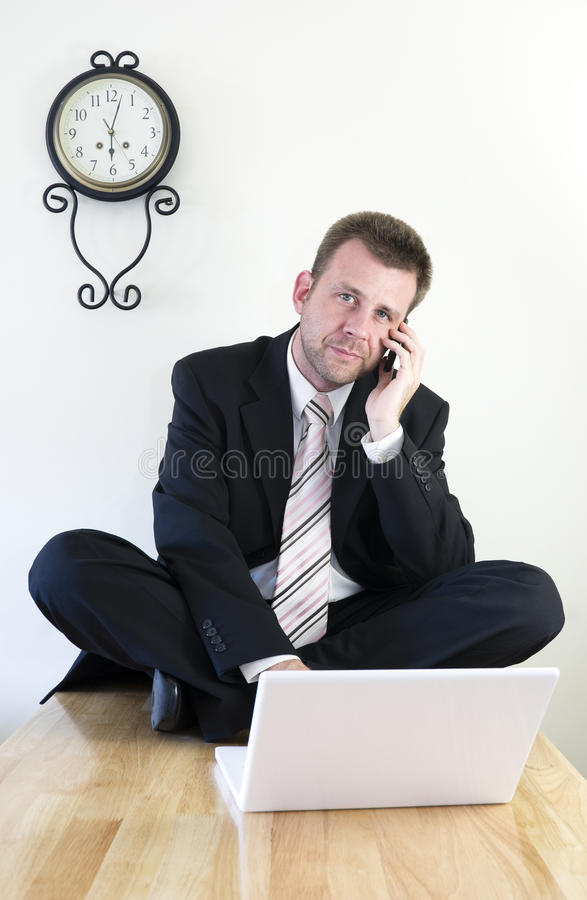 Download Young businessman working stock image. Image of suite - 10823845