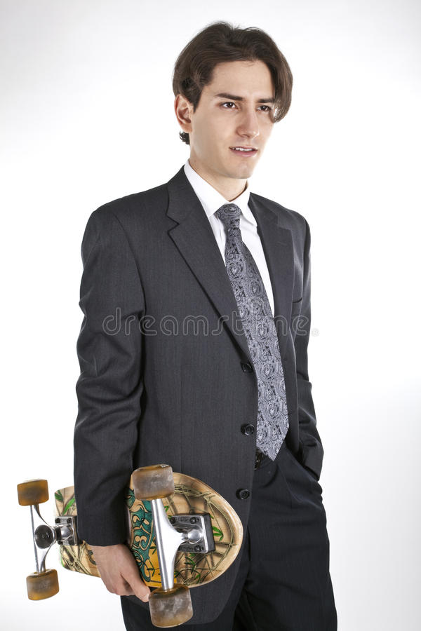 Download Young Businessmen Going To Work Stock Image - Image: 12190559