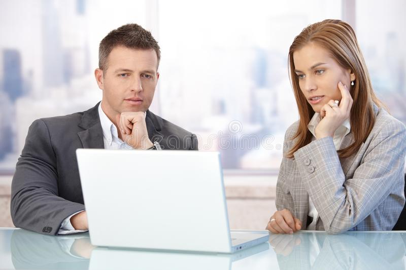 Download Young Businesspeople Working Together Stock Image - Image: 27995181