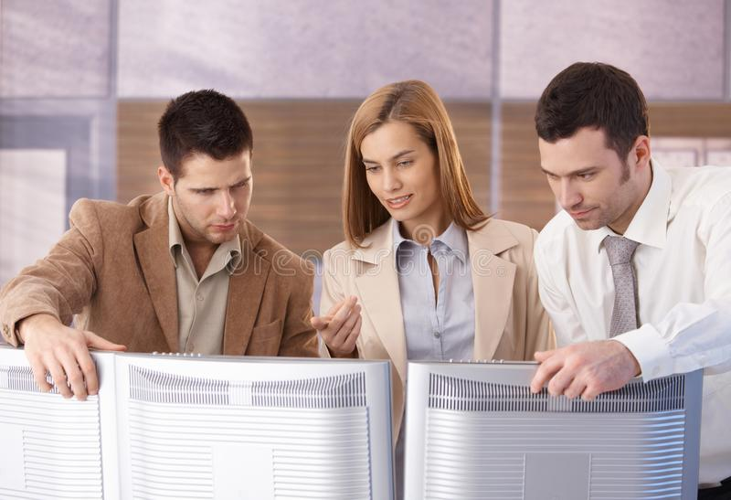 Download Young Businessteam Working Together Stock Photo - Image of good, businessmen: 19194002
