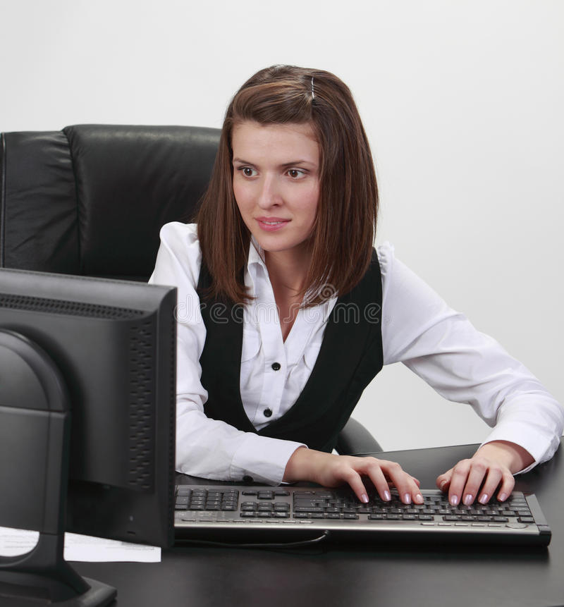 Download Young Businesswoman Stock Photography - Image: 14496582
