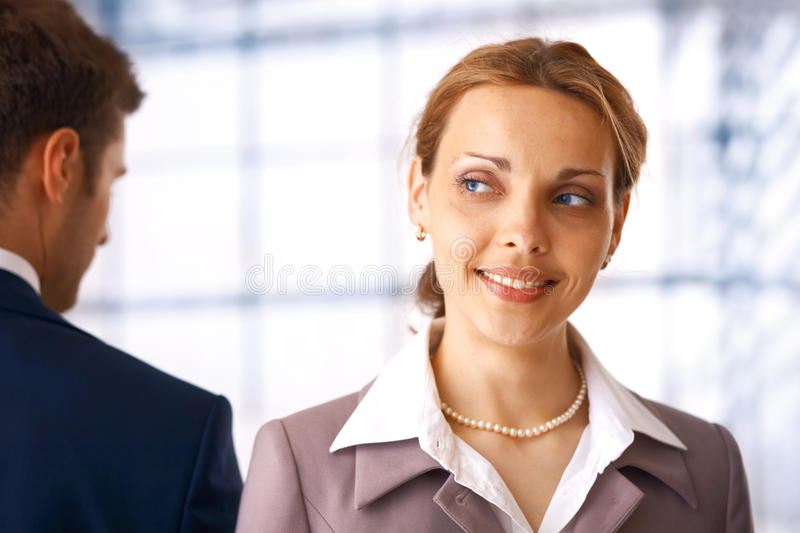 Download Young businesswoman stock photo. Image of contemporary - 14855606