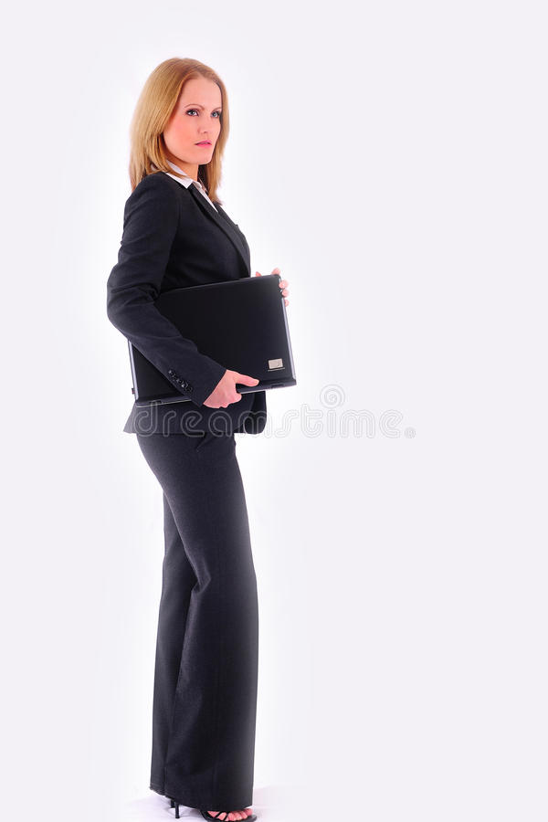 Download Young businesswoman stock photo. Image of beauty, assistance - 17530336