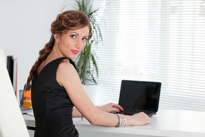 Young Businesswoman. Stock Photo