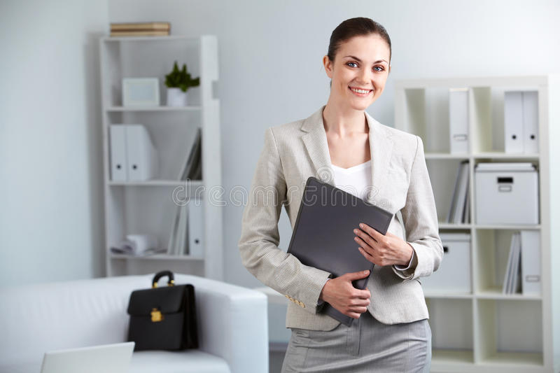 Download Young businesswoman stock image. Image of feminine, corporate - 22108923
