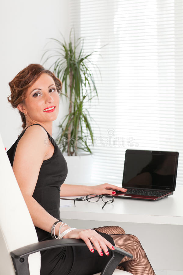 Download Young businesswoman. stock image. Image of businesswoman - 22712321