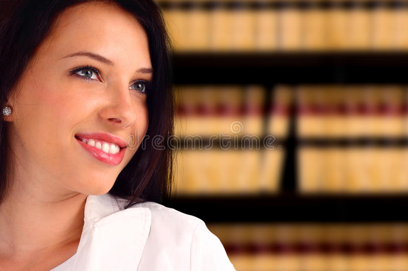 Download Young businesswoman stock image. Image of confident, justice - 22883659