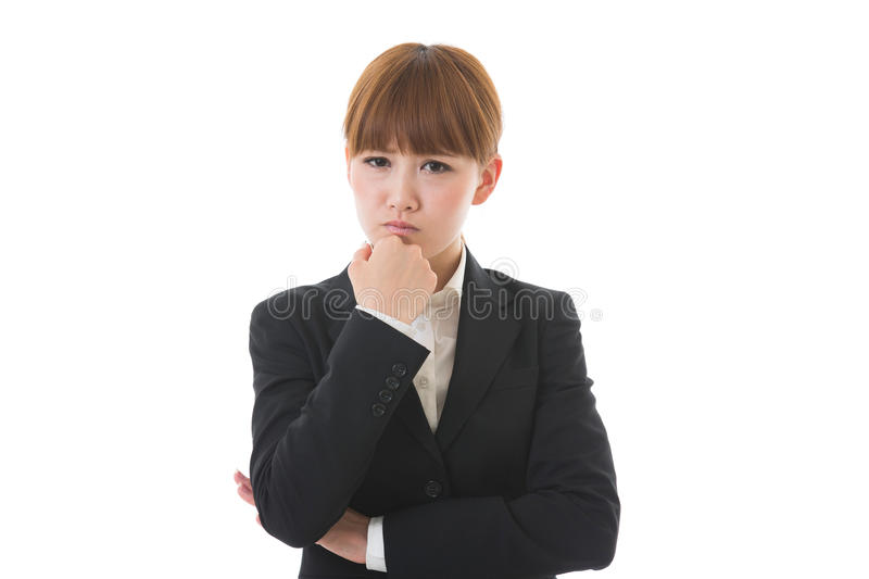 Download Young businesswoman stock photo. Image of asian, recruit - 26587426