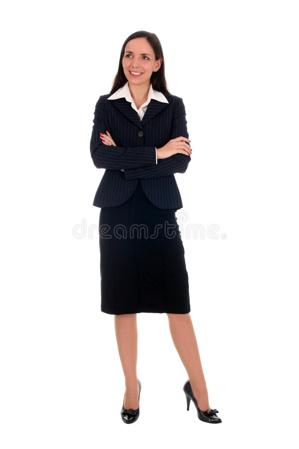 Download Young businesswoman stock photo. Image of smiling, body - 4299926