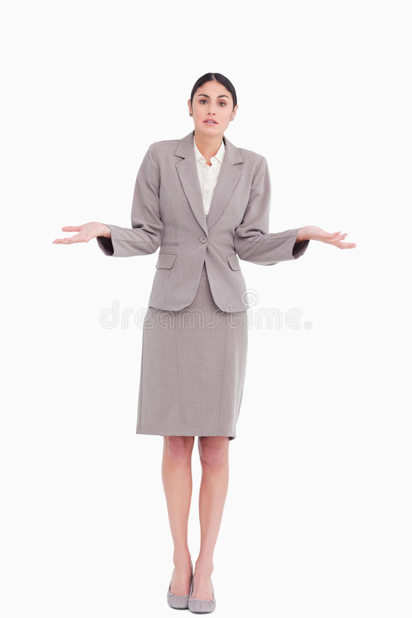 Download Young Businesswoman Clueless Stock Photo - Image: 23013858