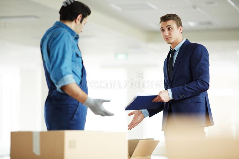 These are not my things stock photo