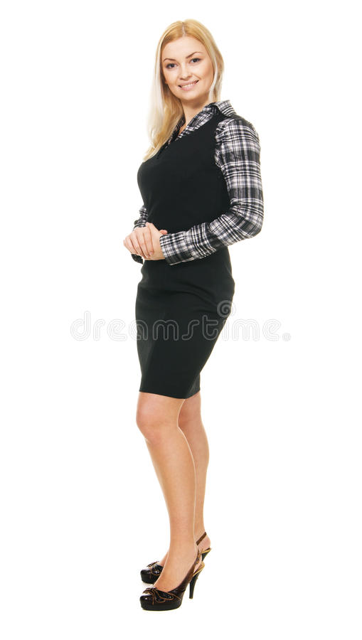 Download Young Businesswoman Full Length Portrait Stock Photo - Image: 13216446