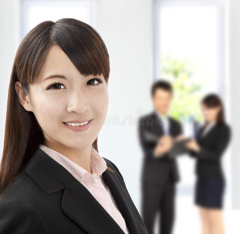 Download Young Businesswoman In Office Stock Image - Image: 23868967