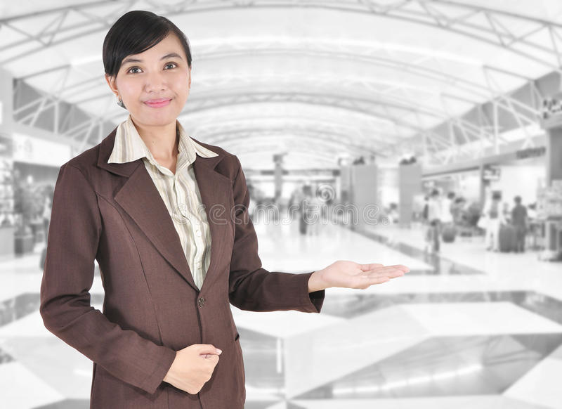 Download Young Businesswoman Smiling Stock Photo - Image: 29474254