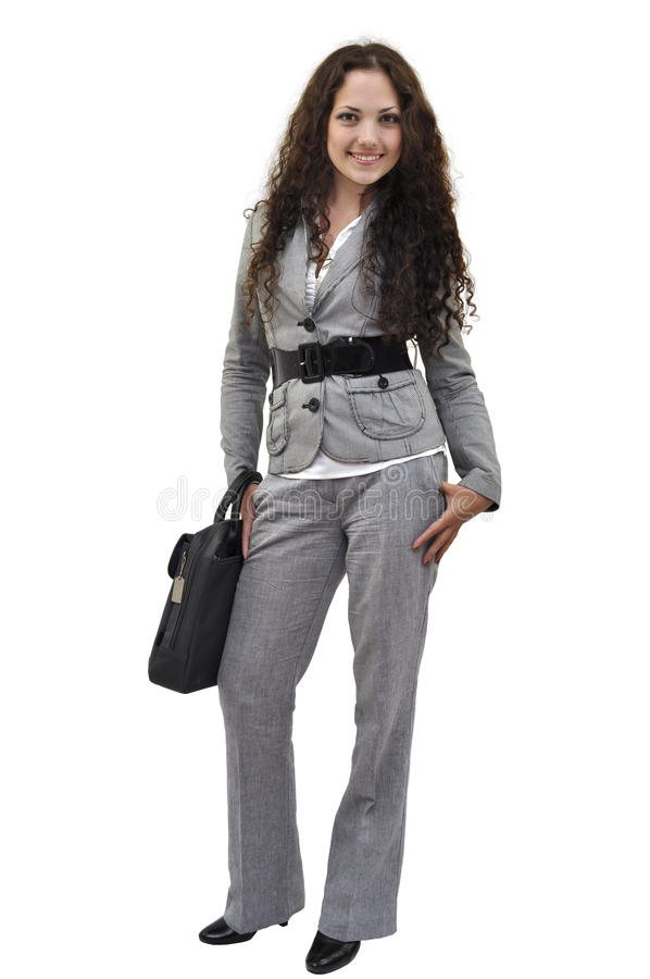Download Young Businesswoman Standing Stock Image - Image: 18594895