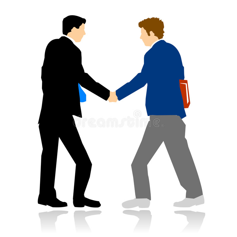Download Young Candidate Got The Job Stock Image - Image: 8589921