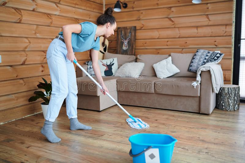 Home chores royalty free stock images