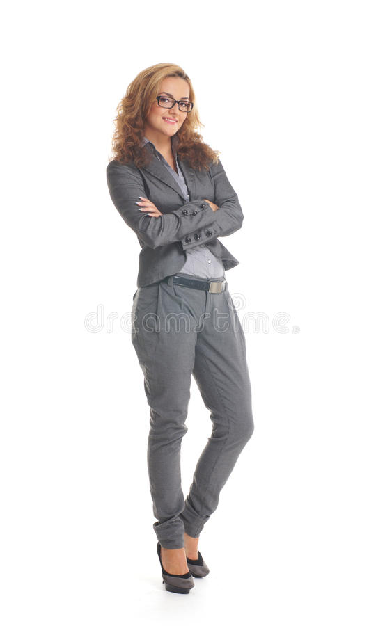 Download A Young Caucasian Businesswoman In Formal Clothes Stock Images - Image: 21093884