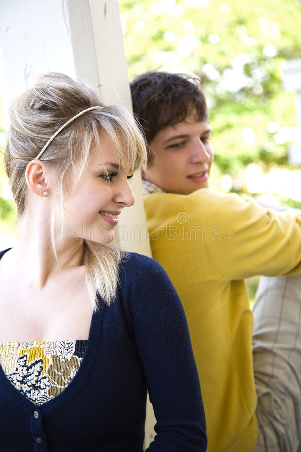 Download Young Caucasian Couple In Love Stock Photo - Image: 9106450