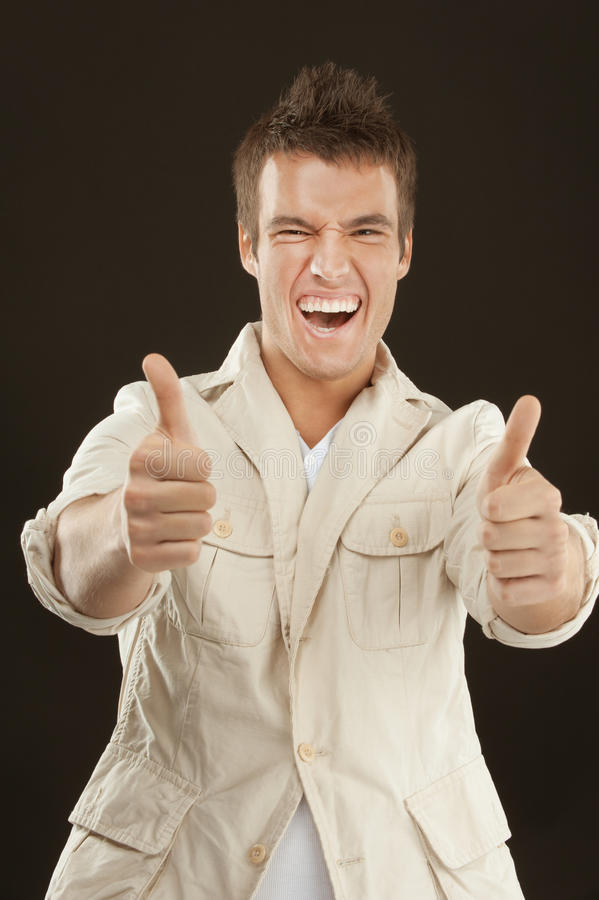 Download Young Cheerful Man Royalty Free Stock Photography - Image: 33502927
