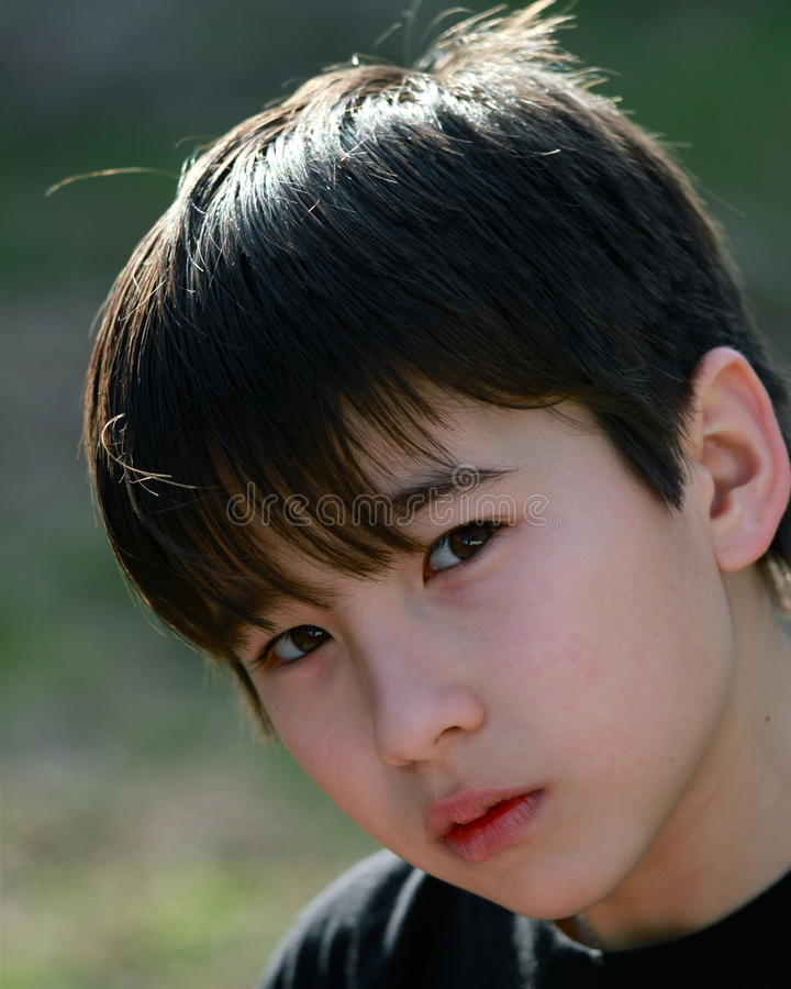Download Young Child Intense Expression Stock Photo - Image: 23381054