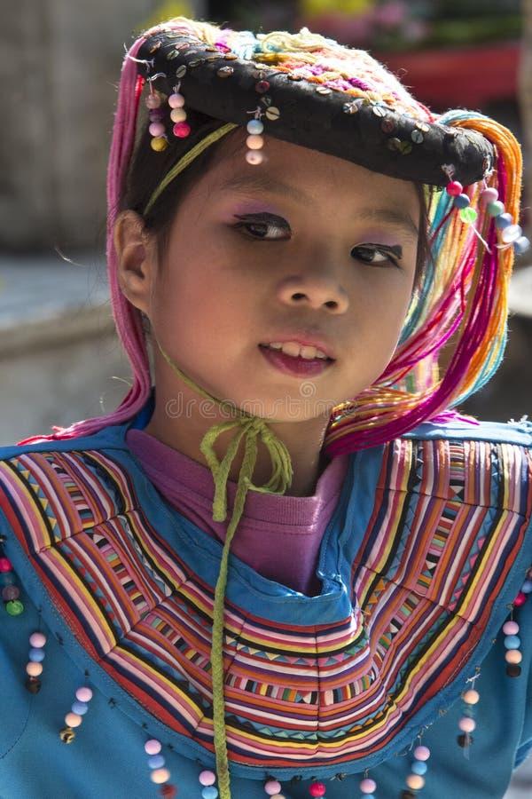 Child at Doi Suthep - Chiang Mai - Thailand stock image