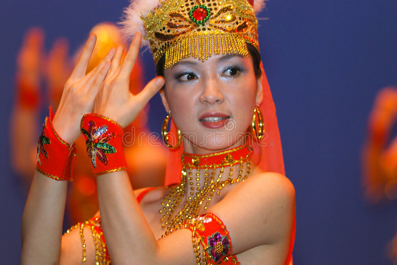 Download Young Chinese Dancers On Stage Stock Photo - Image: 1993800