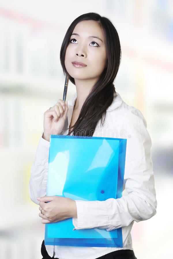 Download Young chinese woman stock photo. Image of success, pretty - 22792502