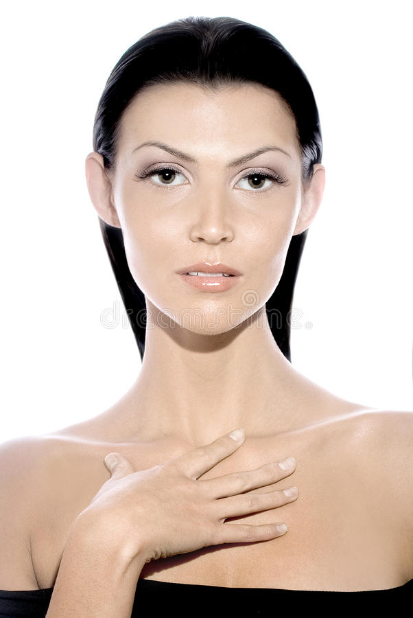 Download Young Clean Beauty stock image. Image of make, close - 21662301