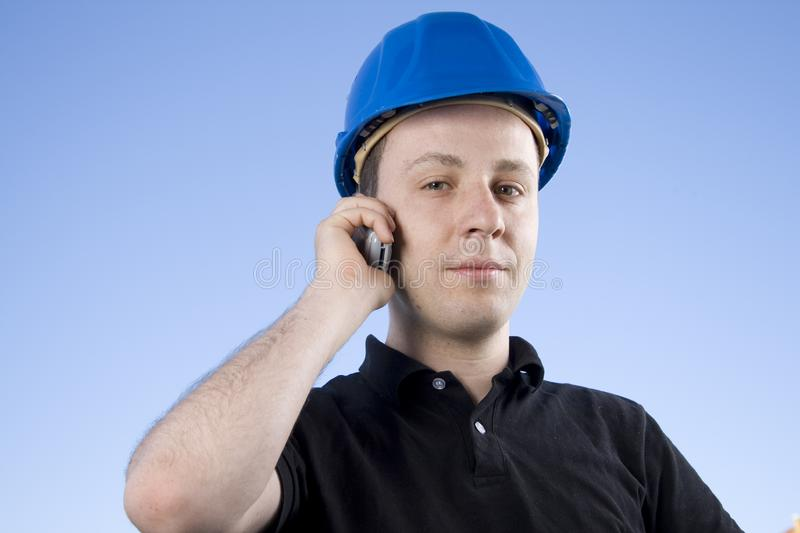 Young Contractor royalty free stock photo