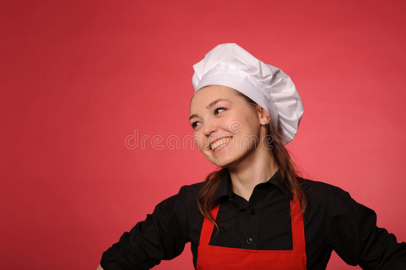 Download Young cook stock image. Image of attractive, apron, glad - 26319101