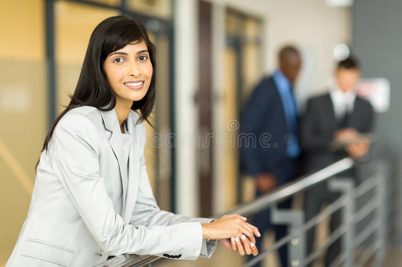 Young corporate worker royalty free stock photos