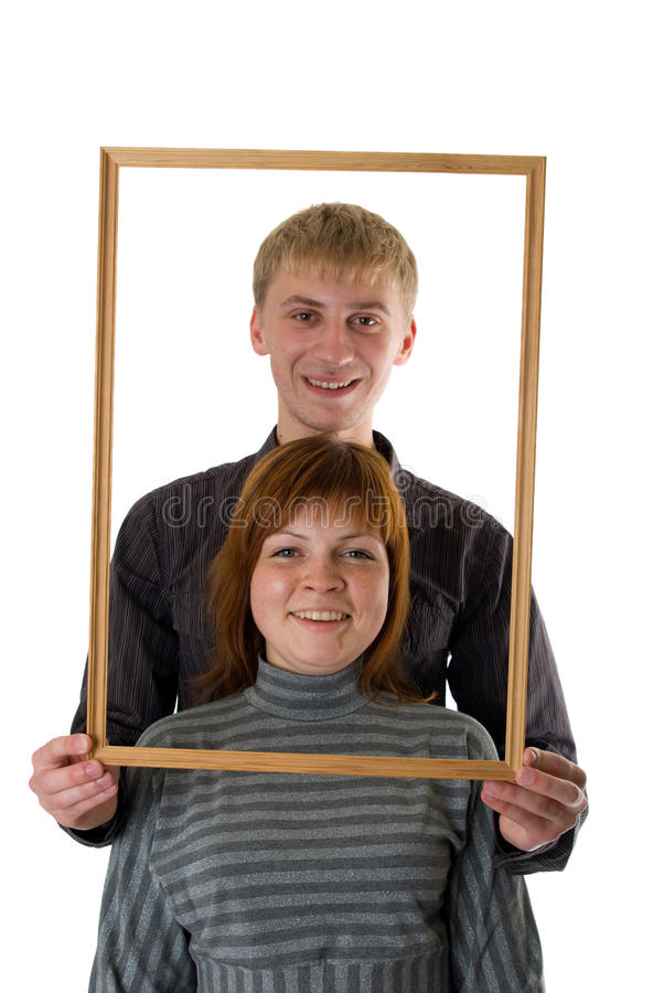 Download Young couple stock image. Image of girl, love, frame - 11549527