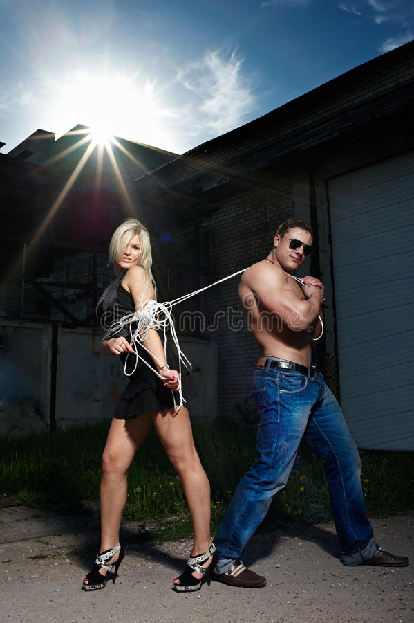 Download Young Couple stock image. Image of boys, exercise, cute - 14530021