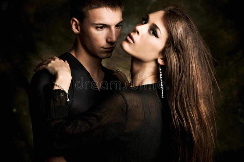Download Young couple stock image. Image of brunette, love, relationship - 15047637