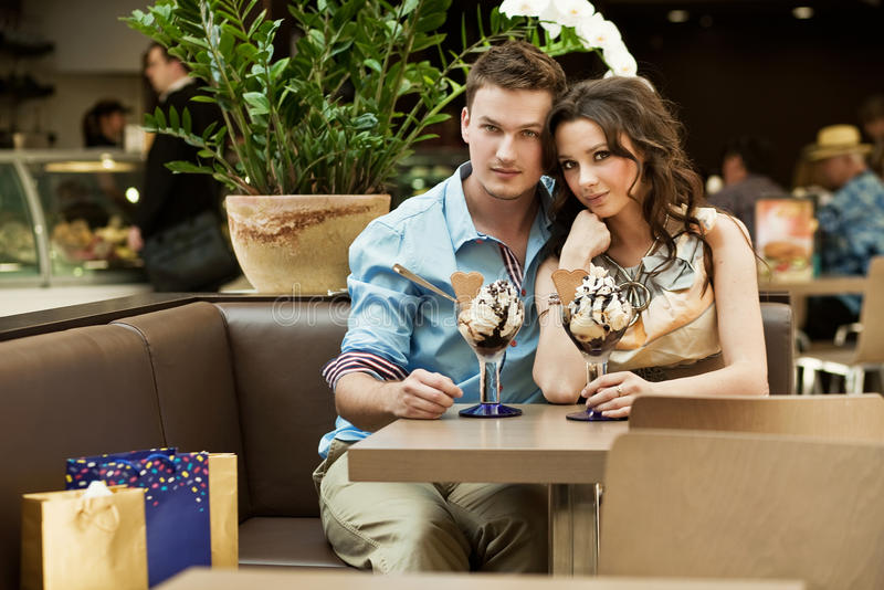 Download Young couple stock photo. Image of modern, adult, chair - 19562604