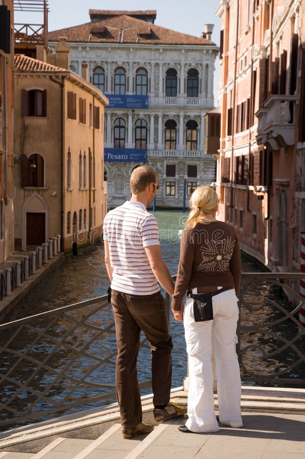 Download Young couple stock photo. Image of italy, woman, contemplating - 2203780