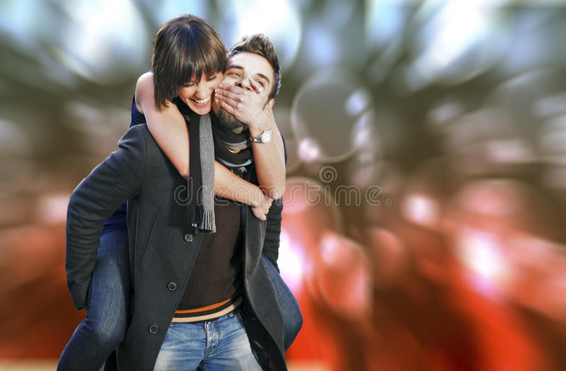 Download Young couple stock photo. Image of attractive, embracing - 22641018