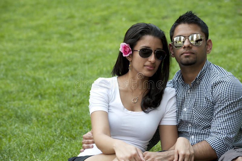 A Young Couple Royalty Free Stock Photography