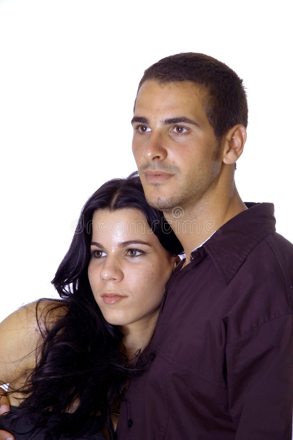 Download Young couple stock photo. Image of beautiful, female, background - 2987326