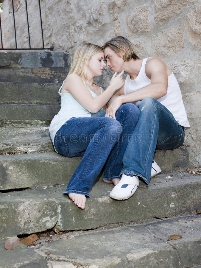 Download Young couple stock photo. Image of adorable, romantic - 4800078