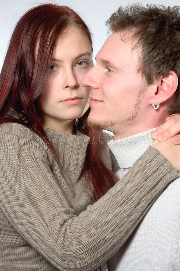 Download Young couple stock image. Image of embracing, couple, portrait - 528071