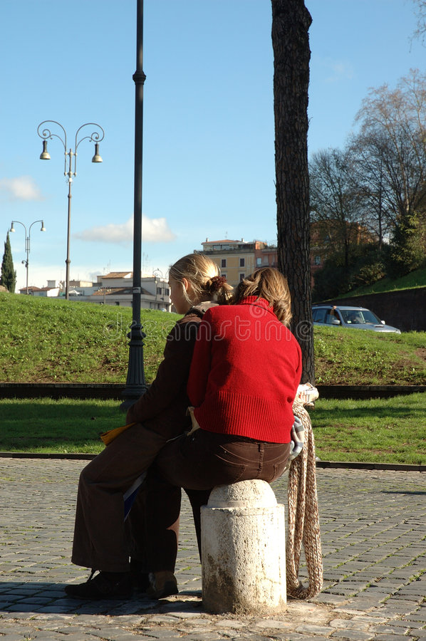 Download Young couple stock image. Image of love, warm, summer, kiss - 55885
