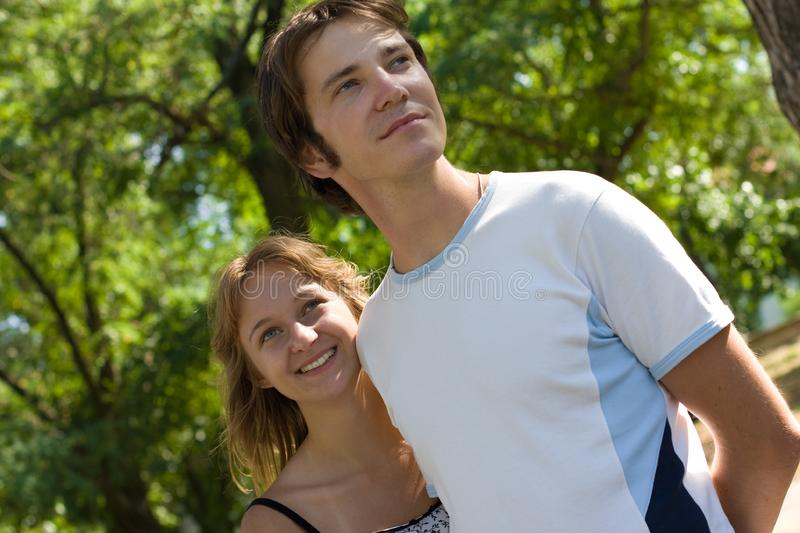 Download Young couple stock photo. Image of background, laughing - 8052102