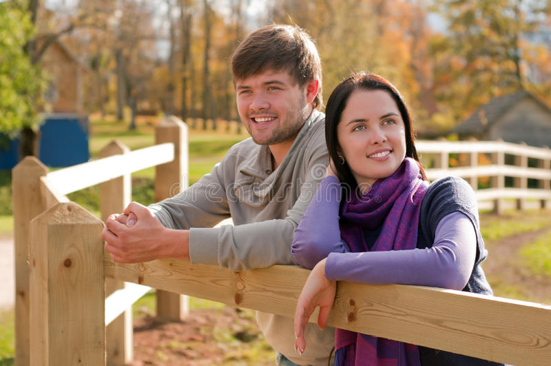 Download Young Couple In The Countryside Stock Photo - Image: 24465104