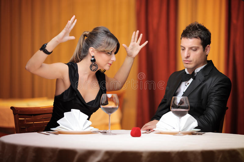 Download Young Couple Having An Argument Stock Image - Image of aggressive, insulting: 17306311
