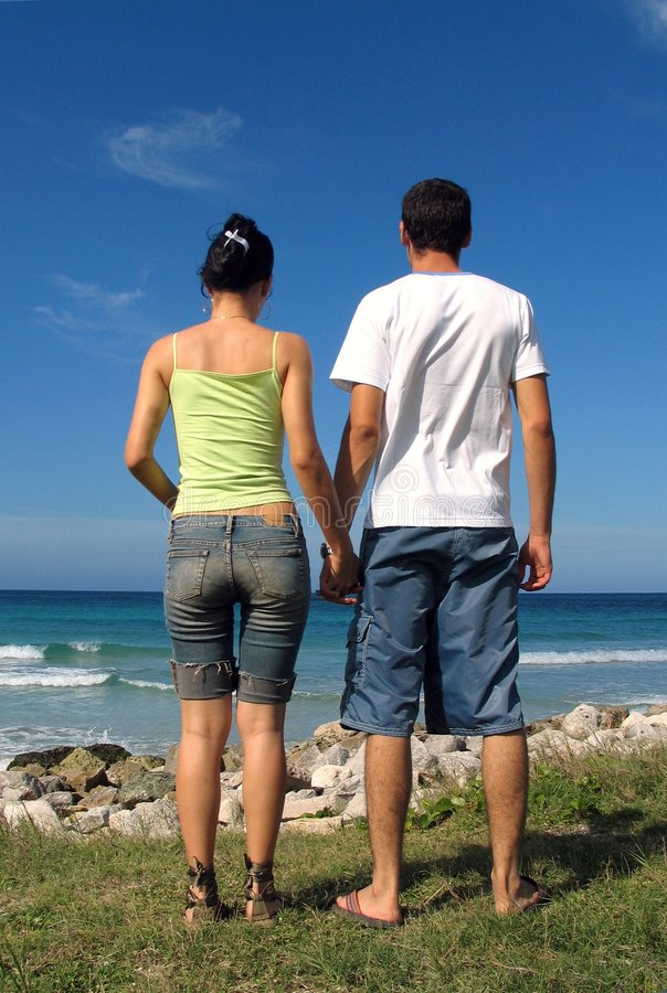 Download Young Couple Holding Hands Royalty Free Stock Photo - Image: 1721985