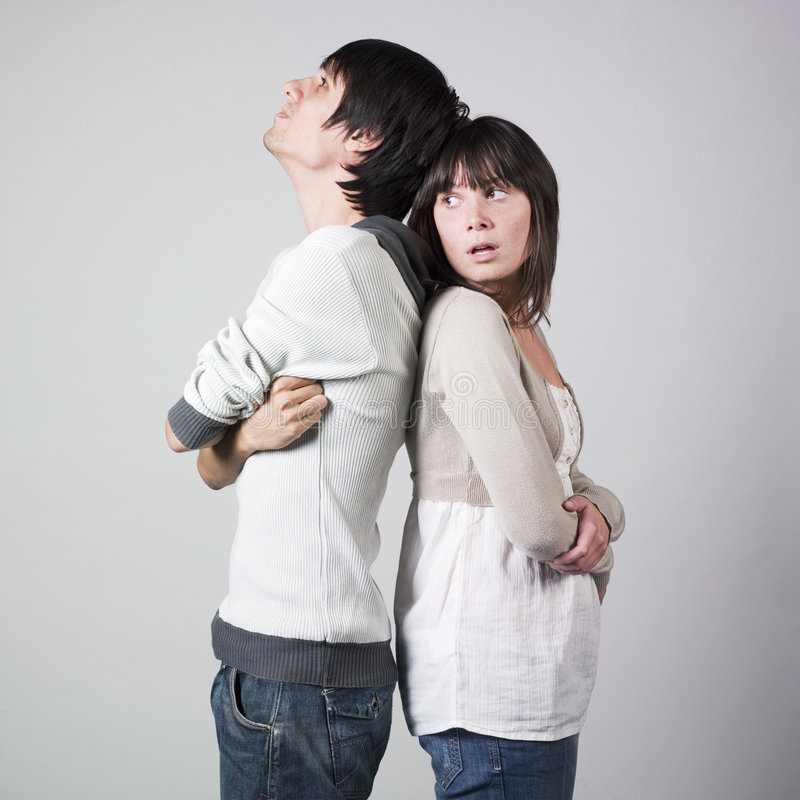 Free Young Couple In Conflict Stock Photo - 7752450