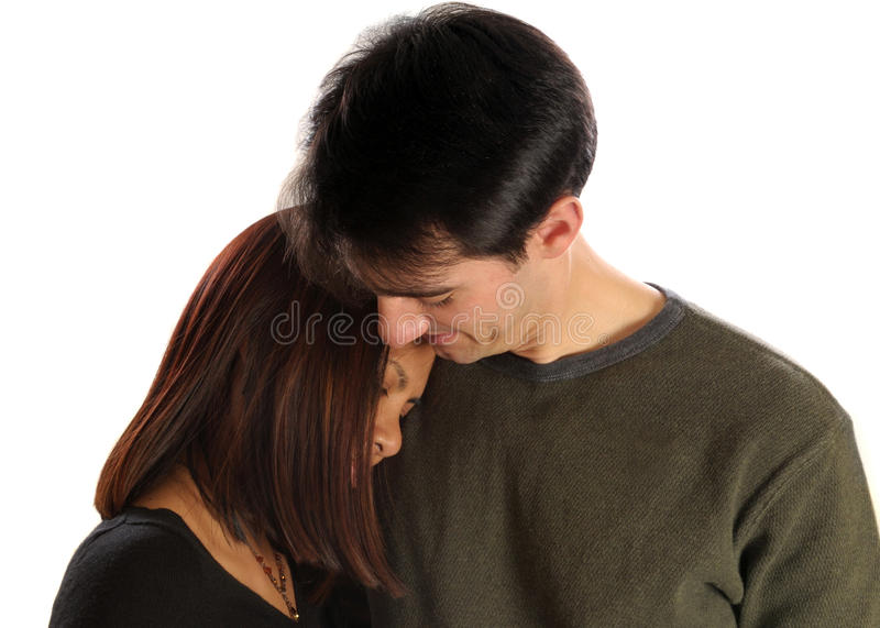 Download Young couple in love stock photo. Image of loving, isolated - 10995572